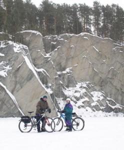 зимнее путешествие на Тальков Камень