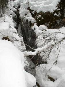 Вход в пещеру Шемахинская II
