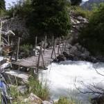 Река Ала-Арча. Первый мост после альплагеря