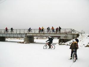 ПВД по льду Исети